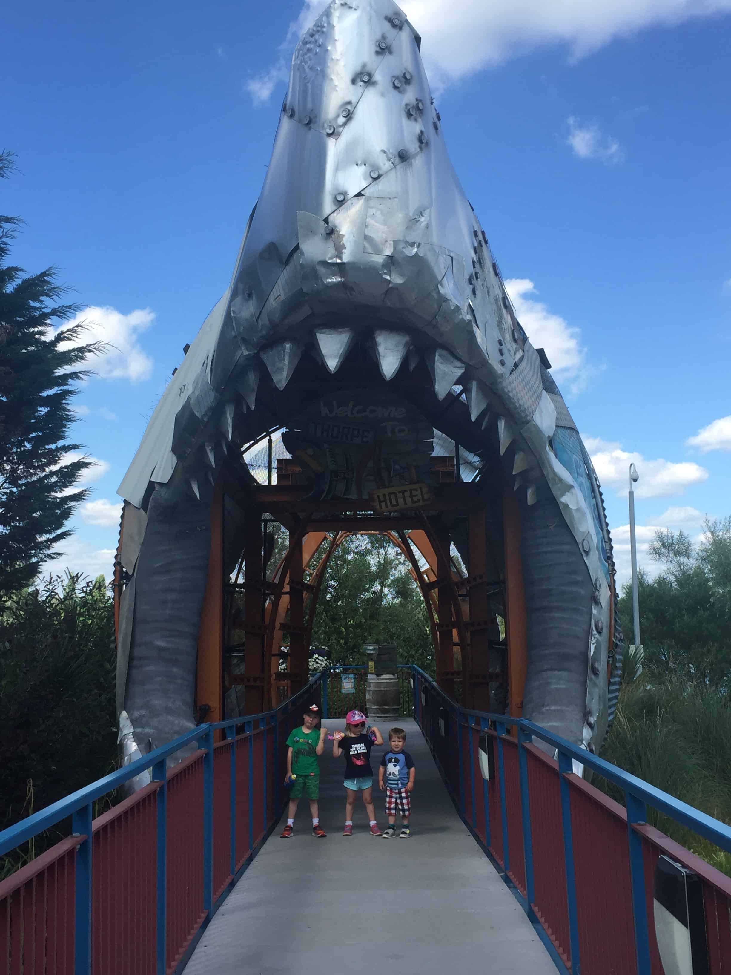 The Shark Hotel at Thorpe Park Review