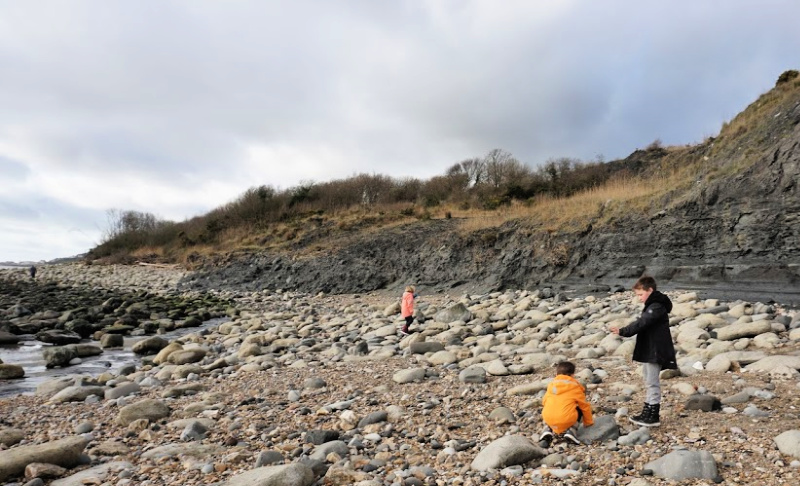 Fossil Hunting Charmouth