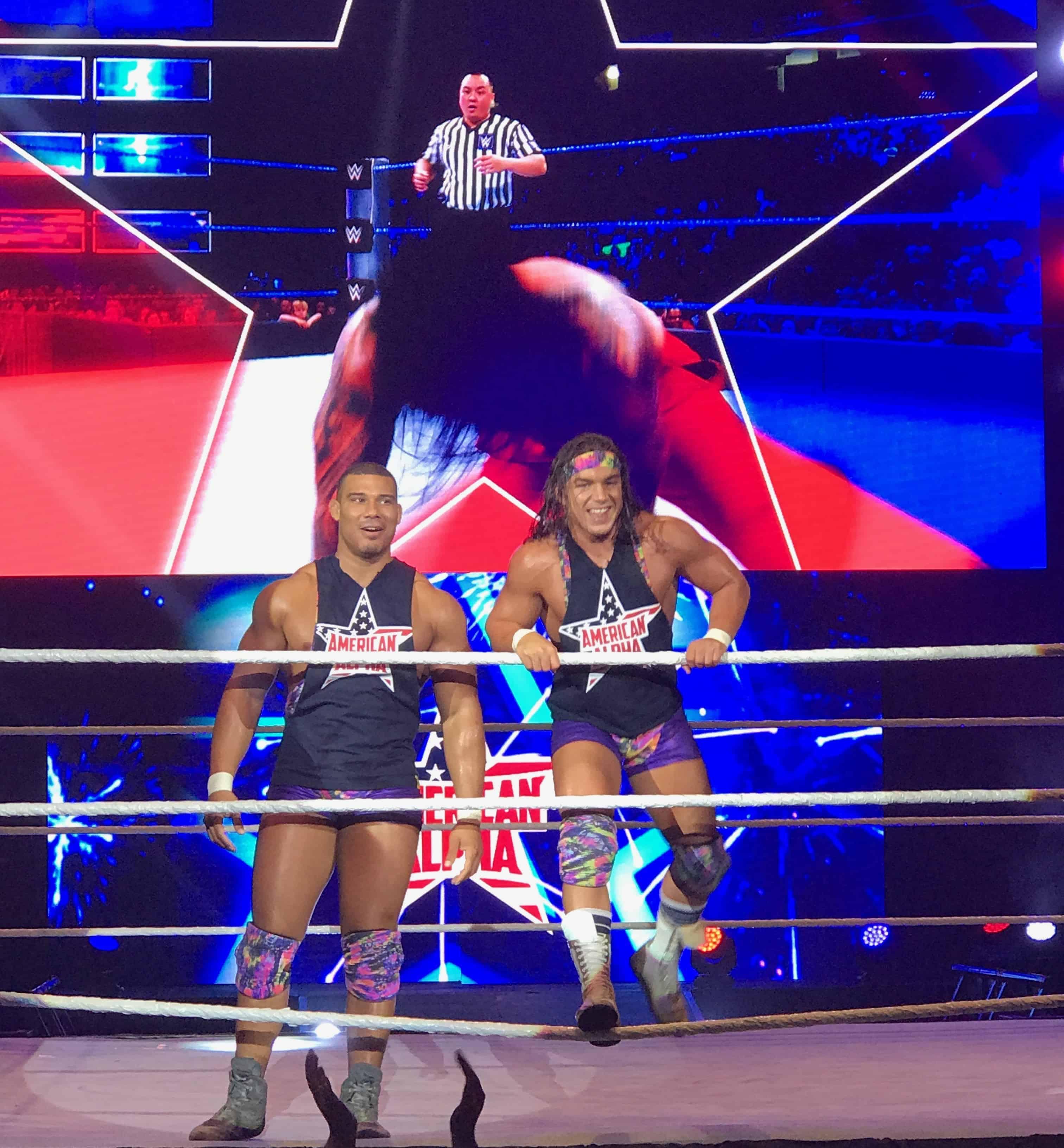 American Alpha WWE
