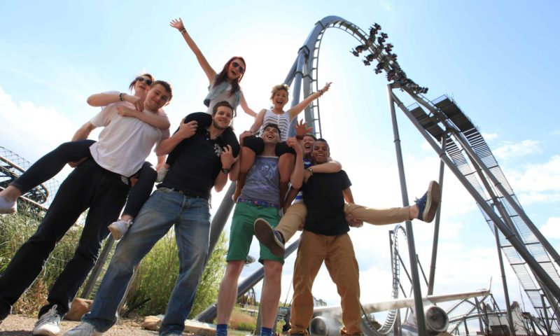 THORPE PARK - Teen Group THE SWARM