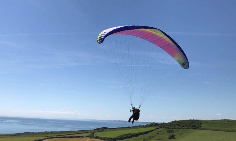 Paragliding Dorset