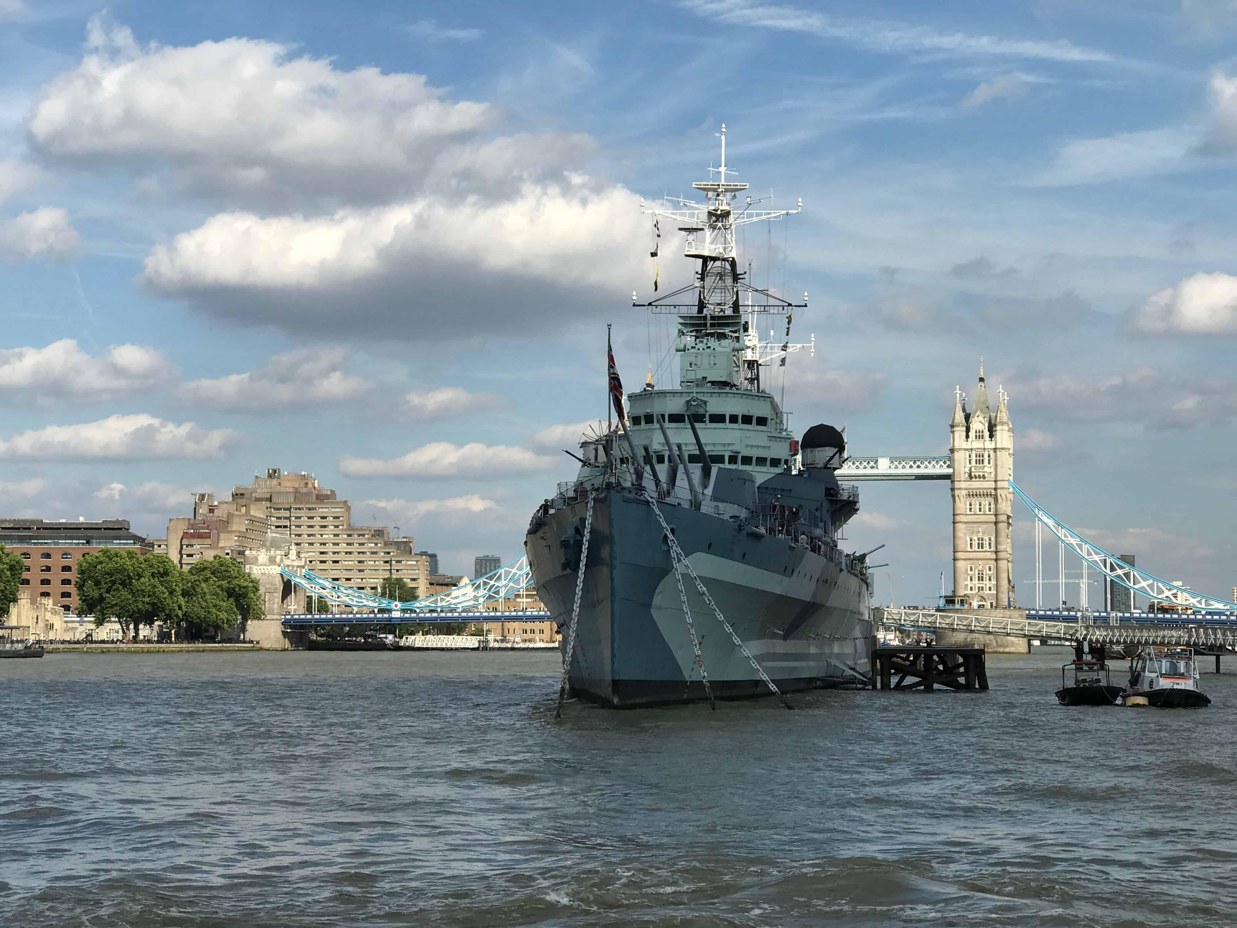 Tower Bridge - HMS Belfast