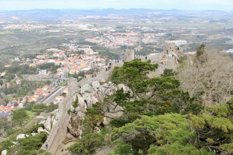 Castelo dos mouros view