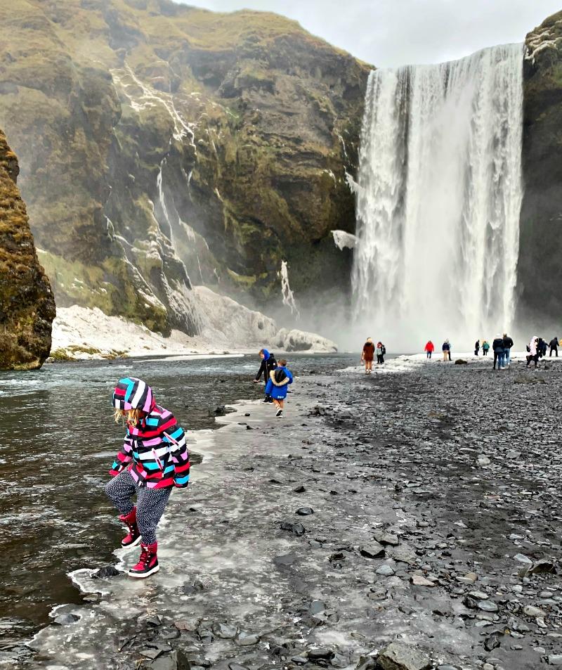 Waterfall-Skogafoss