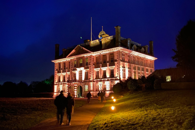Kingston Lacy at Night