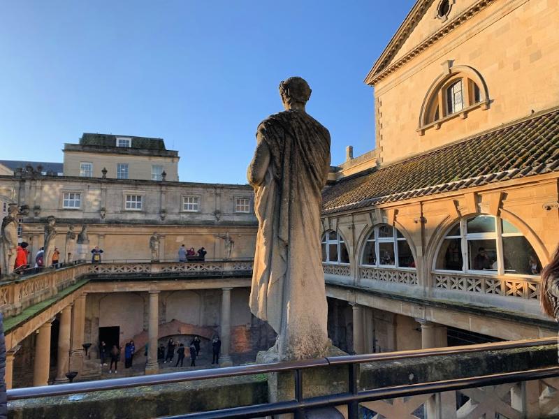 Statue Roman Baths