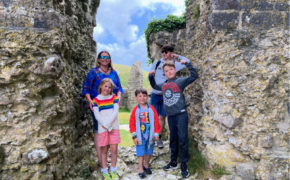 Corfe-Castle-Family