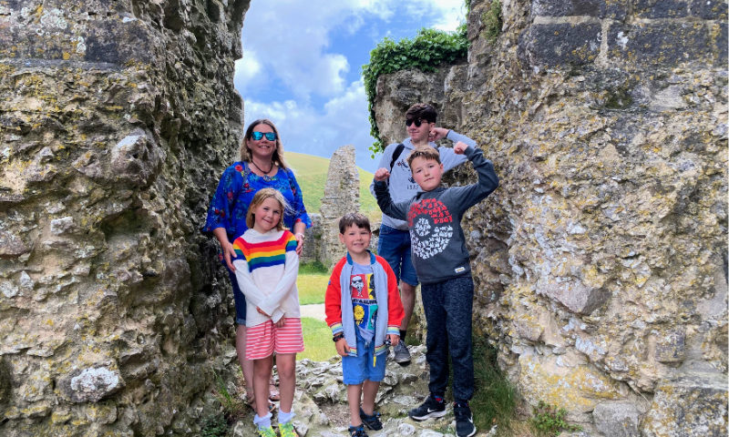 Corfe-Castle-Family