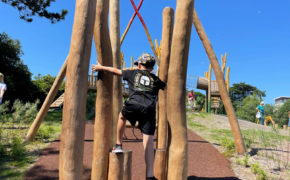 Poole Park Climbing set