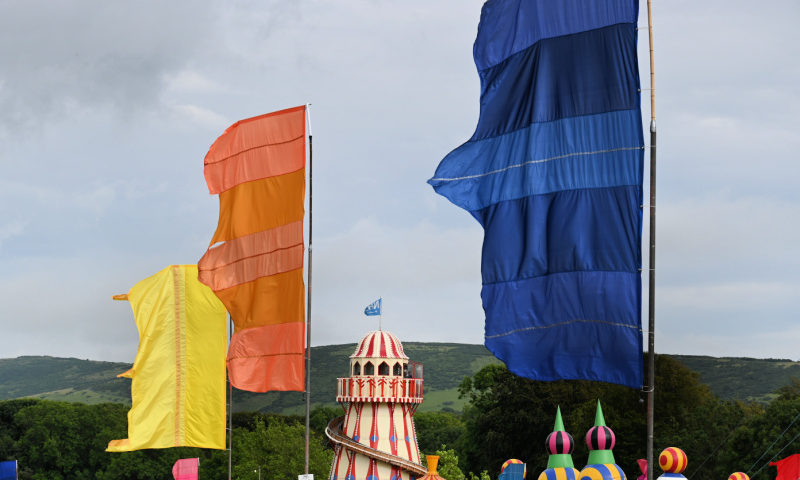 Camp Bestival Flags